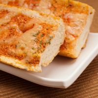 Easy to make cheesy garlic bread.
