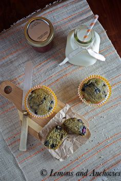 Blueberry Quinoa Muffins @Jean   Lemons and Anchovies