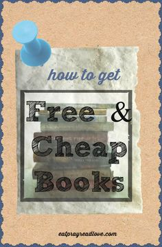 Great idea! How to get free and cheap books!