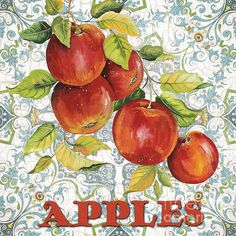 I uploaded new artwork to plout-gallery.artistwebsites.com! - 'Apples on Damask' - http://plout-gallery.artistwebsites.com/featured/apples-on-damask-jean-plout.html via @fineartamerica