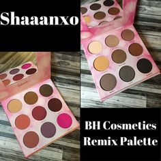 Mrs Q Beauty: Shaaanxo BH Cosmetics Remix Palette Review and Swa...