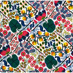 Love this Ceylon print from Josef Frank at Just Scandinavian.  If only I lived in New York...