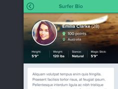 15 Examples of Profile UI Design | Inspiration