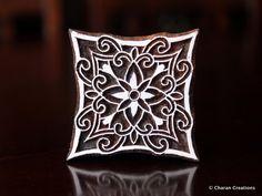 Sello de textiles cerámica estampilla indio de por charancreations