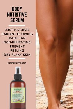 Immediately improves the look of dry flaky skin, stretch marks. This effective nutritive serum for body and face work without irritating your skin. Not chemicals to keeps pores clog-free. Ultra-concentrated for extra tanning and healthy color. 100% natural made of vitamins and antioxidant rich oils, extracts, and essentials that deeply penetrate to deliver nutrients to feed, protect and support your skin.