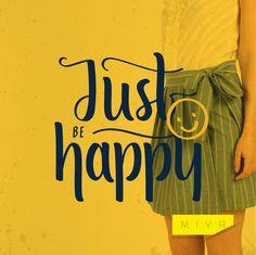 MIYA Textile Apparel Collections & Just be Happy  http://www.miyatextile.com/ #fashion #apparel #dress #clothes #womanfashion #beauty #yellowdress #women #girlfashion #girltrend #fashiontrend #textile #tekstil #elbise #moda #kadınmoda #kıyafet #sarıelbise