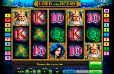 Novomatic presents an amazing video slot- Lord of the Ocean. It's a 5 reeled slot with 10 paylines, and with outstanding graphics. The mighty Poseidon is the Wild symbol, which may grant you with 5000 coins jackpot. And don't forget about the risk game. Play Lords of the Ocean at www.slotspill.com