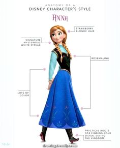 Unique and Creative Anatomy of a Disney Character's Model: Frozen Version -  Spectacular Anatomy of a Disney Charac... - #anatomy #character #disney #frozen #model #version Couple Drawings, Disney Drawings, Drawing Disney, Strawberry Blonde Hair, Charcoal Drawing, Drawing Clothes, Character Modeling, Drawing Poses, Step By Step Drawing