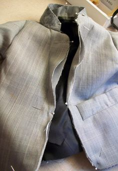 Little Boy Suit Jacket Pattern and Tutorial using a men's suit for the details (pockets, arm buttons, etc). Goodwill, here I come!