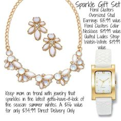 Great Jewelry Gift Idea for Mom.  http://avon4.me/1DXjaNE   #MothersDayGiftIdea  #jewelry