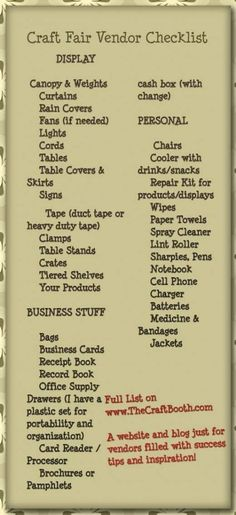 Craft Fair Vendor Sales Tips and Booth Ideas - - Get the inside scoop on all the little known tricks of the trade for increasing sales and building repeat business. How to design and work a booth that rocks! Craft Show Displays, Craft Show Booths, Vendor Displays, Vendor Booth, Market Displays, Craft Show Ideas, Display Ideas, Craft Fair Ideas To Sell, Jewelry Displays