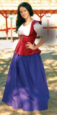 fair maiden garb