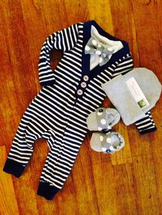 A personal favorite from my Etsy shop https://www.etsy.com/listing/247971097/baby-boys-coming-home-outfit-cardigan