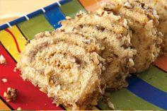 Arrollado crocante Light Dessert Recipes, Light Desserts, Cupcake Cakes, Cupcakes, Cake Pops, Donuts, Banana Bread, Favorite Recipes, Yummy Food
