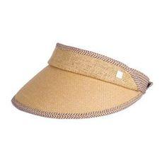 051bfc2eb7139 Womens straw visor hat for sun protection UV summer travel riding sun hats
