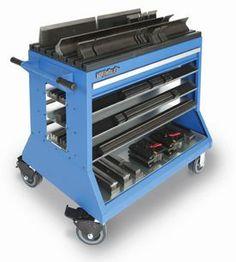 Press Brake Change-Over Cart - 5 S Lean Productivity Tool