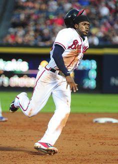 Cameron Maybin Atlanta Braves 2015....improving the Braves.