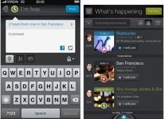 Glomper FreeTime: This social networking app helps you hook up with friends at short notice