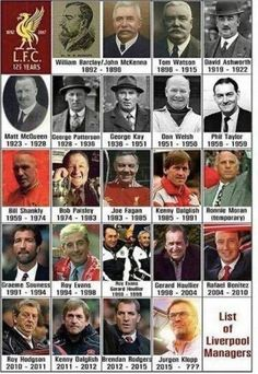 List of Liverpool FC Managers Shared by Motorcycle Fairings - Motocc Gerrard Liverpool, Liverpool Anfield, Liverpool Legends, Liverpool History, Liverpool Home, Liverpool Football Club, Liverpool Fc Managers, Bob Paisley, Liverpool You'll Never Walk Alone