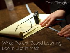 What Project-Based Learning Looks Like In Math