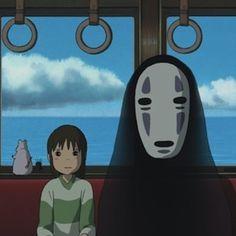 Hayao Miyazaki ■Spirited Away●Studio Ghibli, Japan● (スタジオジブリ) Art Studio Ghibli, Studio Ghibli Films, Hayao Miyazaki, Chihiro Y Haku, Film D'animation, My Neighbor Totoro, Animes Wallpapers, Aesthetic Anime, Anime Art