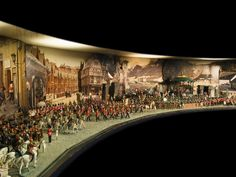 From the Forbes Collection, sold off by his heirs. This sweeping narrative of toy soldiers from around the world features the work of renowned makers such as Mignot, Heyde, Pestana and Brtiains. From the quaint gazebo scene to the dragoon de la garde, this panorama illustrates the breadth of The Forbes Collection of toy soldiers. Est. $10/15,000