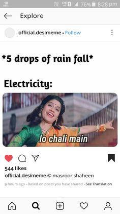 😀😀even just in storm! Sarcastic Jokes, Funny Jokes In Hindi, Very Funny Jokes, Crazy Funny Memes, Funny Video Memes, Really Funny Memes, Funny Facts, Funny True Quotes, Jokes Quotes