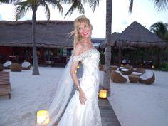 My husband, Riviera Maya and the beautiful white sandy beaches! Perfect!