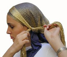 Tonnes of headscarf tying methods. Because headscarves arent only for muslims, they're also for people with chemo, or fashionable people who generally want to mix it up a bit.