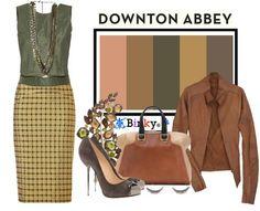 ShopStyle: Palettespiration #106: Downton Abbey & The Women #112: Michelle Dockery by binky