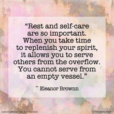 Are you taking some time this weekend for rest and self care? As a mom, I regularly fall into the mindset that I'll just take care of this or that and then I'll take care of myself. There is always a good excuse for why I haven't been exercising, or eating right, getting enough sleep or doing more of the creative hobbies that recharge my soul - hey, I have 3 kids and a growing business! But that's precisely why I need to practice and protect self care rituals! .