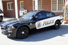 Picture Of Town Of Harrison NY Police Department 2011 Dodge Charger Taken At Their Open House On Sunday October 9, 2011