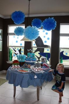 Hostess with the Mostess® - Grayson's Shark Party