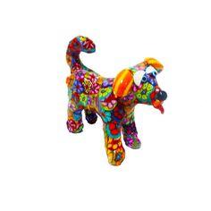 Dog Figurine Small Dog sculpture Dog  art Dog decor by MIRAKRIS