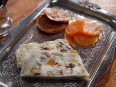 Blue Cheese and Dried Fruit Terrine - recipe from Laura Calder on French Food At Home - The Cooking Channel. Dried Figs, Dried Fruit, Cheese Appetizers, Appetizer Recipes, French Meat Pie, French Food At Home, Mousse, Cooking Channel Recipes, Blue Cheese