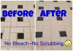 Cleanses Grout and Watches on Pinterest