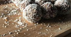 Chewy Peanut Butter Bliss Balls