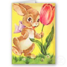 #Vintage #Easter cards for kids