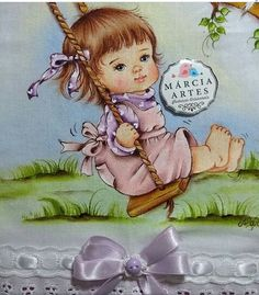Baby Painting, Fabric Painting, Scrapbook Templates, Baby Cartoon, Baby Birth, Baby Love, Besties, Videos, Arts And Crafts