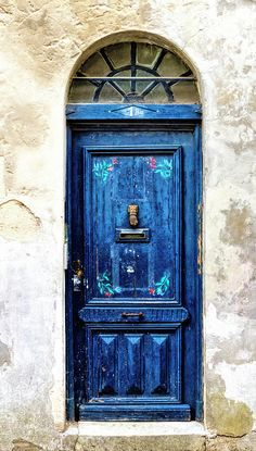 Double Worn Indigo Doors, Served As The Perfect Inspiration For This  OKLxHWTF Collaboration. | OKL X HWTF | Pinterest | French Quarter, Wrought  Iron And ...