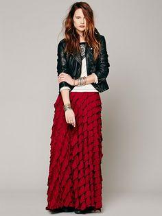 13 Sweet DIY Maxi Skirts to Sew ...