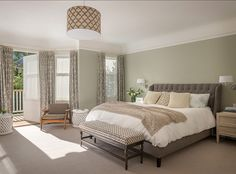 Benjamin Moore 1509 Spanish Olive. I have this into living area. It's the perfect neutral..