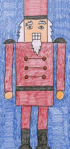 Art Projects for Kids: Nutcracker series