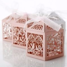 Pearlescent-Wedding-Paper-Bird-Cage-Favour-Boxes-Pink