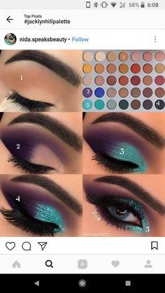 Three Essential Makeup Tips: Eyeshadow - Eyes and lips - # Three . Three Essential Make-up Tips: Eyeshadow - Eyes and lips - Three Essential Makeup Tips: Eyeshadow - Eyes and lips - # Three . Three Essential Make-up Tips: Eyeshadow - Eyes and lips - … Makeup Eye Looks, Eye Makeup Steps, Love Makeup, Skin Makeup, Makeup Inspo, Makeup Inspiration, Makeup Ideas, Makeup Eyeshadow, Makeup Brushes