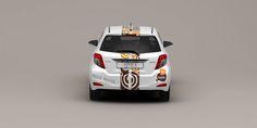 Kofola corporate car design - winning proposal. / Design firemních aut Kofola - vítězný návrh. #Kofola #design #proposal #návrh #cars #auta #bété