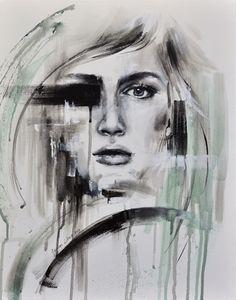 Józefina Litwin, acrylic on canvas, 2015