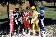 Remember when... everyone always wanted to be the red power ranger