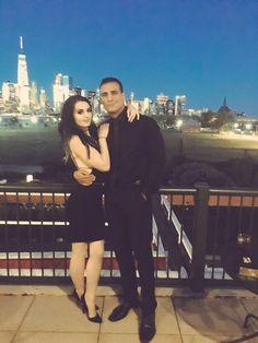 WWE Superstar Alberto Del Rio (Alberto Rodriguez) and his girlfriend WWE Diva Paige (Saraya-Jade Bevis) #WWE