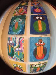 Birdymarble Tuesday 03-11-2015; New Birds today; #M06CirclesintheSand and #M15CharmeBird